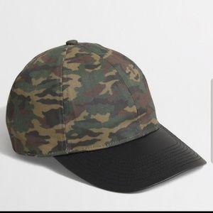 Jcrew camo baseball cap